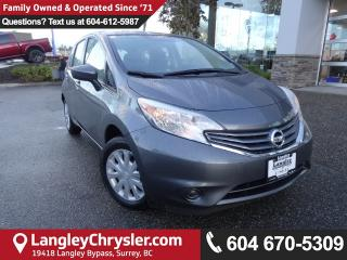 Used 2016 Nissan Versa Note 1.6 SV *DEALER INSPECTED*PROFESSIONALLY DETAILED* for sale in Surrey, BC