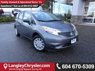 Used 2016 Nissan Versa Note 1.6 SV *ACCIDENT FREE * LOCAL BC CAR * for sale in Surrey, BC