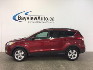 Used 2014 Ford Escape SE- 4WD|ECOBOOST|KEYPAD|HTD STS|NAV|SYNC|REV CAM! for sale in Belleville, ON