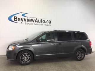 Used 2017 Dodge Grand Caravan SE- ALLOYS|3 ZONE CLIMATE|DVD|NAV|PWR TRUNK! for sale in Belleville, ON