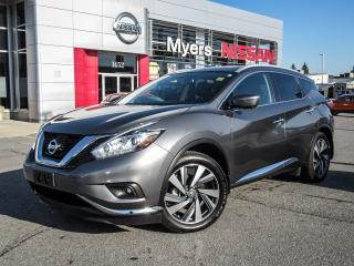 Used 2017 Nissan Murano PLATINUM, NAVIGATION, LEATHER SEATS, MOONROOF for sale in Orleans, ON
