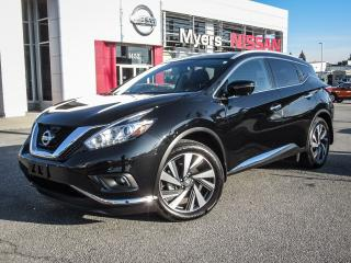 Used 2017 Nissan Murano PLATINUM, NAVIGATION, BACK UP CAMERA, LEATHER, MOONROOF for sale in Orleans, ON