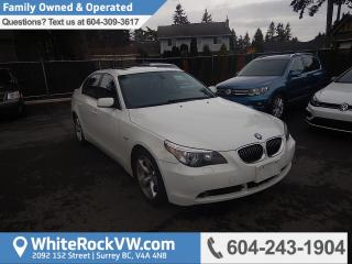 Used 2007 BMW 525 Memory Seat and Steering Wheel & Emergency Communication System for sale in Surrey, BC