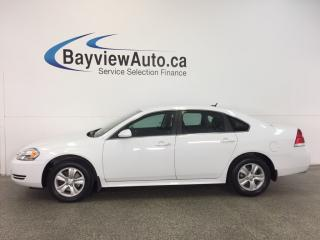 Used 2013 Chevrolet Impala LS- 3.6L|ALLOYS|A/C|ON STAR|CRUISE|LOW KM! for sale in Belleville, ON