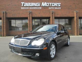 Used 2006 Mercedes-Benz C280 LEATHER SUNROOF POWER GROUP for sale in Mississauga, ON