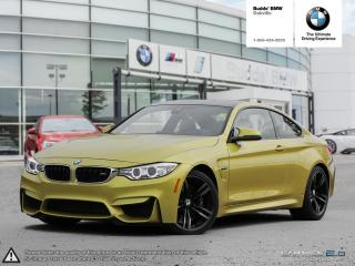 Used 2016 BMW M4 Coupe NAVIGATION | REAR VIEW CAMERA | for sale in Oakville, ON