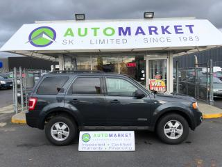 Used 2008 Ford Escape XLT 4WD WARRANTY! LEATHER! SUNROOF! for sale in Langley, BC