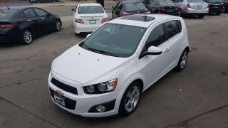 Used 2014 Chevrolet Sonic LT- SUNROOF, ALLOY,POWER PACK for sale in Hamilton, ON