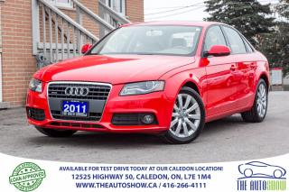 Used 2011 Audi A4 2.0T for sale in Caledon, ON
