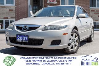 Used 2007 Mazda MAZDA6 GS | NO ACCIDENT for sale in Caledon, ON