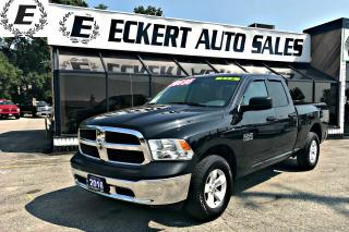 Used 2016 RAM 1500 ST QUAD CAB 4X4 WITH LOW KMS for sale in Barrie, ON