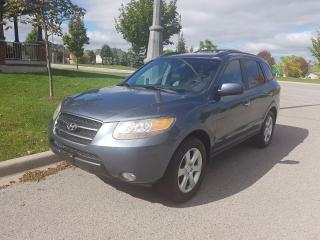 Used 2007 Hyundai Santa Fe GLS LEATHER SUNROOF for sale in Gormley, ON