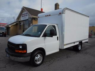 Used 2010 Chevrolet Express 3500 Cube Van 14Ft Aluminium Box Loaded ONLY 69,000KMs for sale in Etobicoke, ON