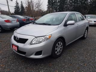 Used 2010 Toyota Corolla LE LOW KMS for sale in Gormley, ON