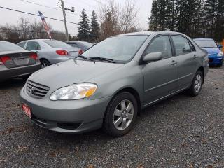 Used 2004 Toyota Corolla LE for sale in Gormley, ON