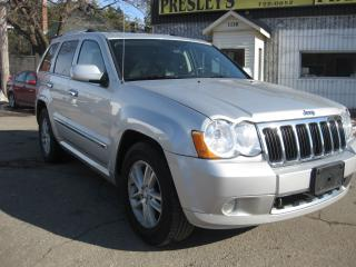 Used 2010 Jeep Grand Cherokee Limited Sport roof Hemi AC Nav DVD loaded! for sale in Ottawa, ON