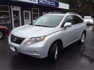 Used 2010 Lexus RX 350 Premium Package for sale in Parksville, BC