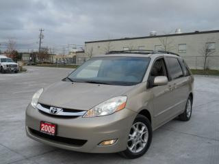 Used 2006 Toyota Sienna Limited, Navi, Backup Camera, DVD, 7 pass for sale in North York, ON