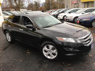 Used 2012 Honda Accord Crosstour EX-L / Navi / Leather / Sunroof / LIKE NEW! for sale in Scarborough, ON