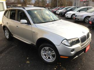 Used 2008 BMW X3 Leather / Panoramic Sunroof / Fully Loaded! for sale in Scarborough, ON