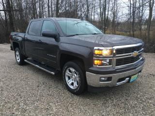 Used 2015 Chevrolet Silverado 1500 LT crew cab Only 57000 km for sale in Perth, ON