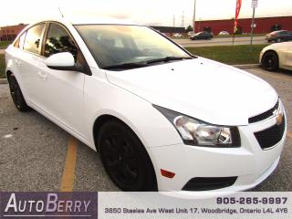 Used 2014 Chevrolet Cruze 1LT - 1.4L - FWD for sale in Woodbridge, ON