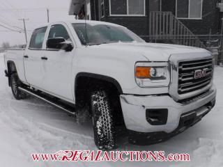 Used 2015 GMC SIERRA 2500 WT CREW CAB 4WD for sale in Calgary, AB