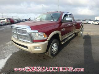 Used 2015 Dodge RAM 3500 LARAMIE LONGHORN CREW CAB 4WD 6.7L for sale in Calgary, AB