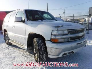 Used 2001 Chevrolet TAHOE  4D UTILITY 4WD for sale in Calgary, AB