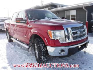 Used 2011 Ford F-150 LARIAT SuperCrew 4WD for sale in Calgary, AB