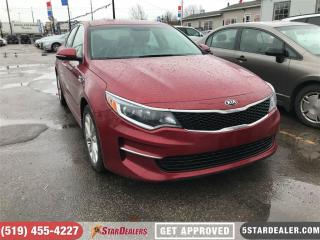 Used 2017 Kia Optima LX+ | ONE OWNER | CAM | HEATED SEATS for sale in London, ON