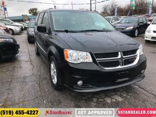 Used 2016 Dodge Grand Caravan Crew | LEATHER | ONE OWNER - POWER LIFT GATE for sale in London, ON