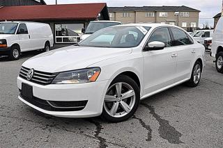 Used 2014 Volkswagen Passat Leather, Sunroof, No Accidents for sale in Aurora, ON