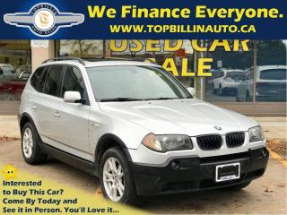 Used 2005 BMW X3 2.5i AWD PANORAMIC SUNROOF 166K kms for sale in Concord, ON