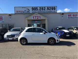 Used 2013 Fiat 500 Sport, Turbo, Leather, WE APPROVE ALL CREDIT for sale in Mississauga, ON