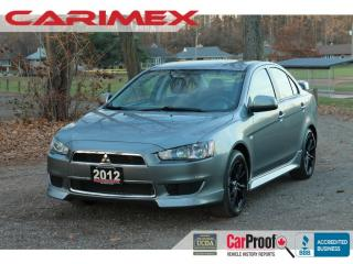 Used 2012 Mitsubishi Lancer SE AWC All-Wheel-Drive | Alloys | CERTIFIED for sale in Waterloo, ON