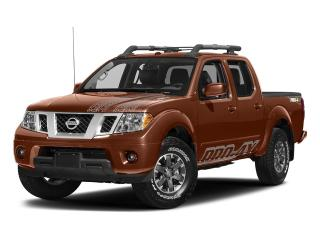 New 2018 Nissan Frontier Crew Cab PRO-4X 4x4 at for sale in Mississauga, ON