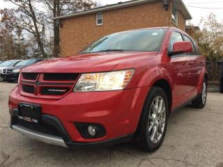 Used 2013 Dodge Journey R/T Rallye**NAV**BACK-UP CAM**HTD SEATS** for sale in Mississauga, ON