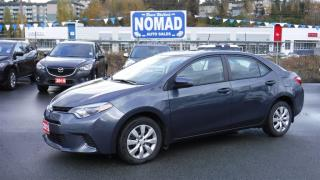 Used 2015 Toyota Corolla LE REAR VISION CAMERA HEATED SEATS for sale in Abbotsford, BC