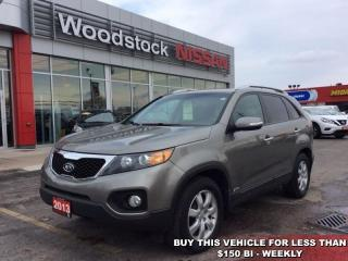 Used 2013 Kia Sorento LX  - Bluetooth - $133.59 B/W for sale in Woodstock, ON