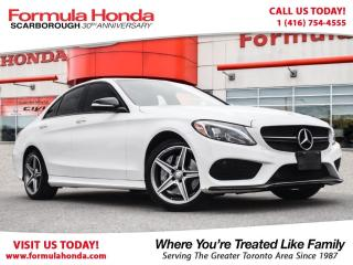 Used 2015 Mercedes-Benz C-Class $100 PETROCAN CARD YEAR END SPECIAL! for sale in Scarborough, ON
