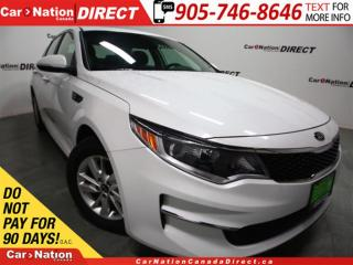 Used 2017 Kia Optima LX| ONE PRICE INTEGRITY| OPEN SUNDAYS| for sale in Burlington, ON