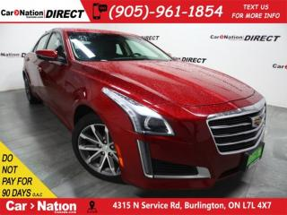 Used 2016 Cadillac CTS 3.6L Luxury Collection| AWD| PANO ROOF| NAVI| for sale in Burlington, ON