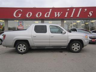 Used 2006 Honda Ridgeline EX-L! AS IS! HEATED LEATHER SEATS! SUNROOF! for sale in Aylmer, ON