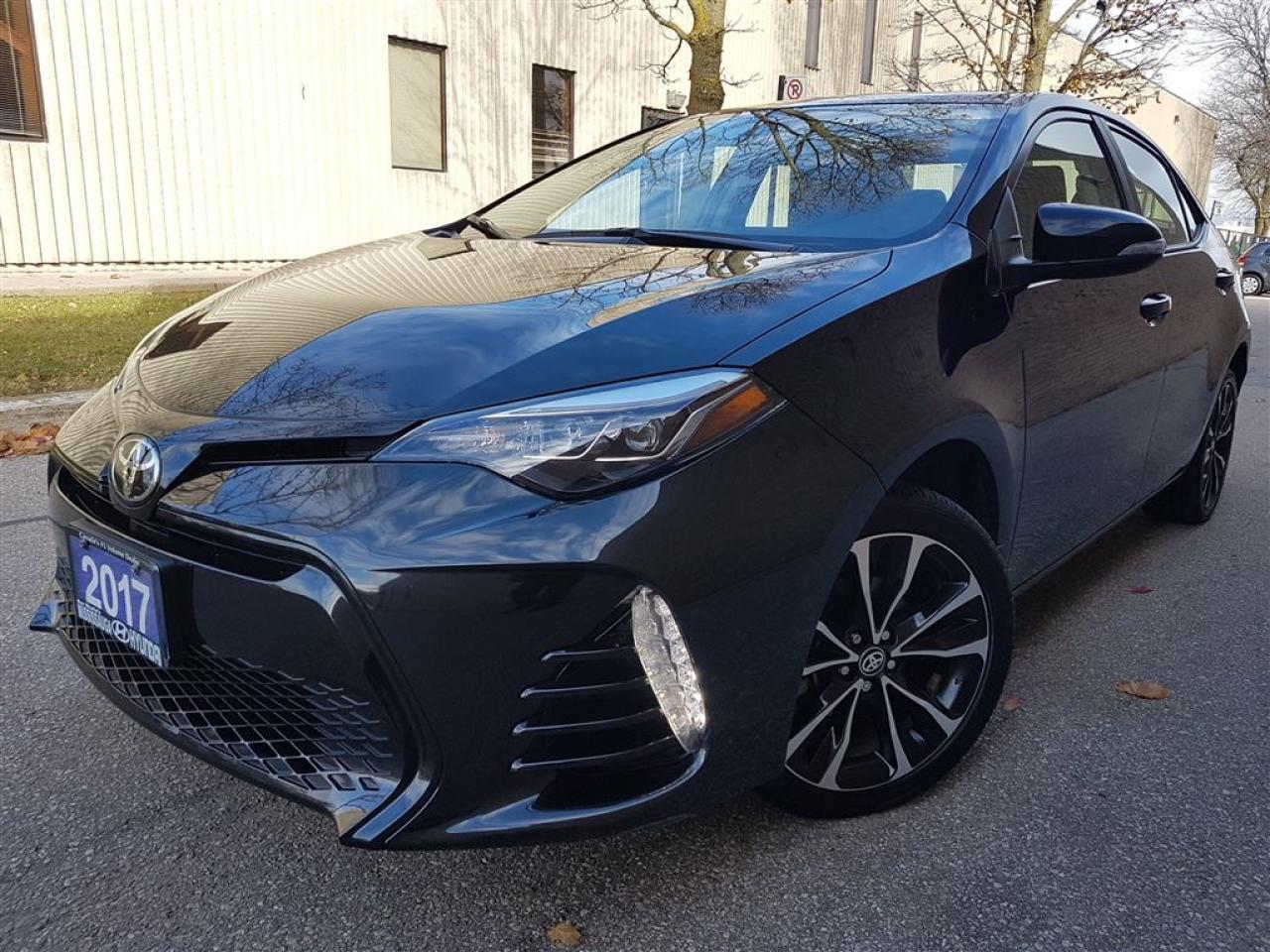 Photo of Black 2017 Toyota Corolla