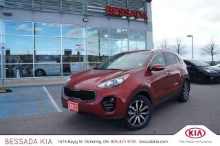 Used 2017 Kia Sportage EX AWD for sale in Pickering, ON