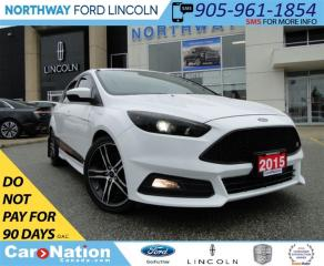 Used 2015 Ford Focus ST | NAV | LEATHER | REAR CAM | for sale in Brantford, ON