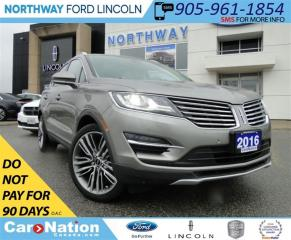 Used 2016 Lincoln MKC RESERVE | AWD |HEATED LEATHER | PANO ROOF | NAV | for sale in Brantford, ON