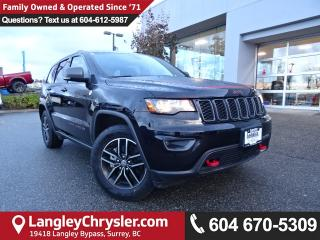 Used 2017 Jeep Grand Cherokee Trailhawk *ACCIDENT FREE * DEALER INSPECTED * CERTIFIED * for sale in Surrey, BC