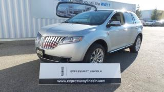 Used 2015 Lincoln MKX AWD 3.7L V6 Leather, Moon, Navi for sale in Stratford, ON